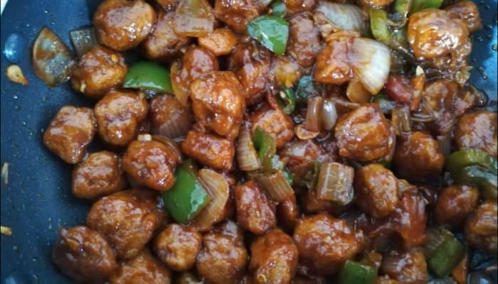 सोयाबीन चिली बनाने की विधि हिंदी में- Soyabean Chilli Recipe In Hindi